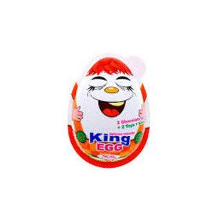 www.RocketFizzLancasterCA.com Big King Egg Milk Chocolate Collectible