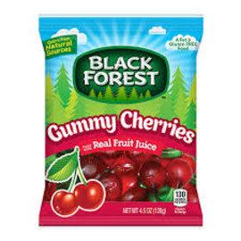Ferrara Candy Company Inc Gummy Cherries Peg Bag