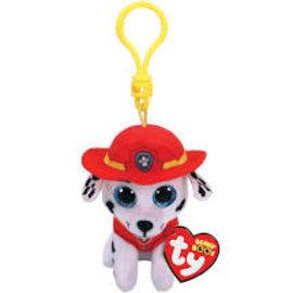 Ty Inc. Beanie Baby Marshall Dalmatian Dog Clip