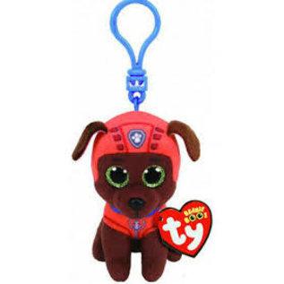 Ty Inc. Beanie Baby Zuma Labrador Dog Clip