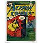 """Novelty  Metal Tin Sign 12.5""""Wx16""""H Comic Print - Action Comics April 1942 Novelty Tin Sign"""