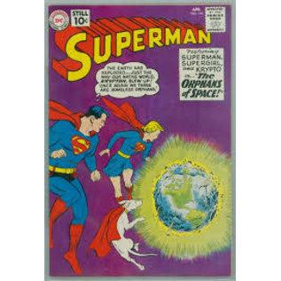 """Novelty  Metal Tin Sign 12.5""""Wx16""""H Comic Print - Superman April 1961 Novelty Tin Sign"""