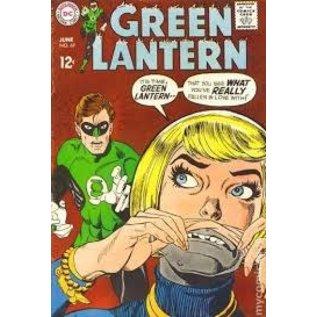 """Novelty  Metal Tin Sign 12.5""""Wx16""""H Comic Print - Green Lanter June 1969 Novelty Tin Sign"""