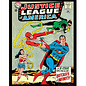 """Novelty  Metal Tin Sign 12.5""""Wx16""""H Comic Print - Justice League of America February 1964 Novelty Tin Sign"""