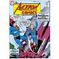 """Novelty  Metal Tin Sign 12.5""""Wx16""""H Comic Print - Action Comics #252 May 1969 Novelty Tin Sign"""