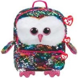 Ty Inc. Beanie Baby Owen Sequin Backpack