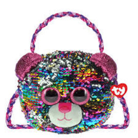 Ty Inc. Beanie Baby Brutus Sequin Purse