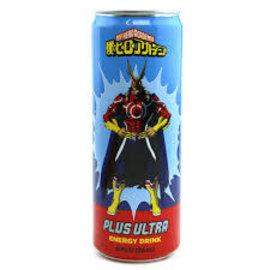 Soda at Rocket Fizz Lancaster My Hero Academia Plus Ultra Energy Drink