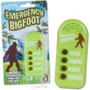 Toys BUTTON - EMERGENCY BIGFOOT