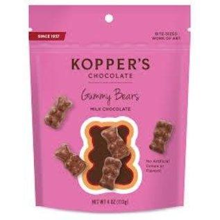 Kopper's Milk Chocolate Gummi Bears