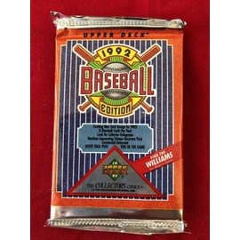 Collectible Cards Vintage 1992 Edition Upper Deck Baseball Trading Cards