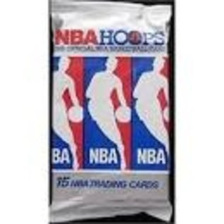 Collectible Cards 1990 Hoops Nba Basketball One Wax Pack