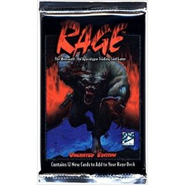 Collectible Cards Rage Booster Unlimited Misc. Supplies – December 31, 1998