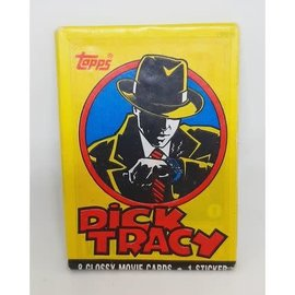 Collectible Cards Topps Dick Tracy Glossy Movie Trading Cards Pack