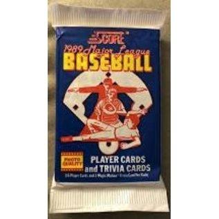 Collectible Cards 1989 Score baseball cards