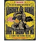 """Novelty  Metal Tin Sign 12.5""""Wx16""""H Don't Tread On Me - Warning Novelty Tin Sign"""