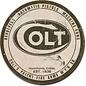 "Novelty  Metal Tin Sign 12.5""Wx16""H Colt - Round Logo Novelty Tin Sign"