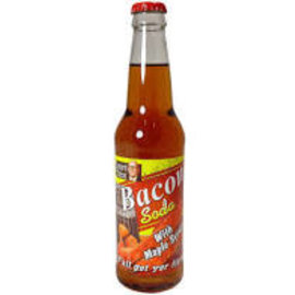 Soda at Rocket Fizz Lancaster Lester's Fixins Bacon with Maple Syrup Soda