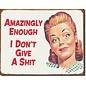 "Novelty  Metal Tin Sign 12.5""Wx16""H Legends - Lady LuckEphemera - Amazingly Enough Novelty Tin Sign"