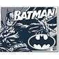 """Novelty  Metal Tin Sign 12.5""""Wx16""""H Batman - Duotone Novelty Tin Sign"""