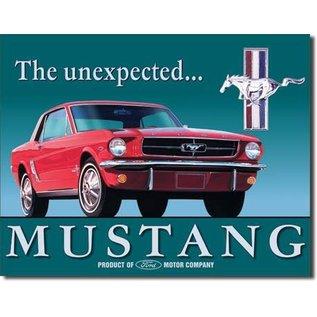 "Novelty  Metal Tin Sign 12.5""Wx16""H Ford Mustang Novelty Tin Sign"