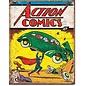"""Novelty  Metal Tin Sign 12.5""""Wx16""""H Action Comics No1 Cover Novelty Tin Sign"""