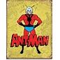 """Novelty  Metal Tin Sign 12.5""""Wx16""""H Ant-Man Retro Novelty Tin Sign"""