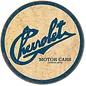 "Novelty  Metal Tin Sign 12.5""Wx16""H Chevy Historic Logo Novelty Tin Sign"