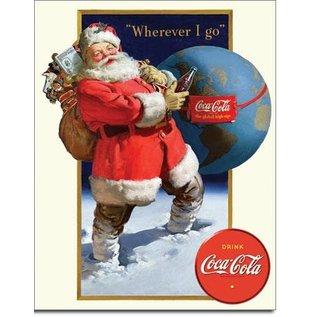 Coke -Santa Globe