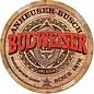"Novelty  Metal Tin Sign 12.5""Wx16""H Budweiser Barrel End Novelty Tin Sign"