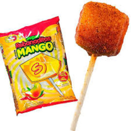 Candies at Rocket Fizz Lancaster Super Rebanadita Mango W/ Chili Powder Lollipop