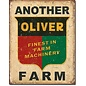 """Novelty  Metal Tin Sign 12.5""""Wx16""""H Another Oliver Farm Novelty Tin Sign"""
