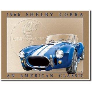"Novelty  Metal Tin Sign 12.5""Wx16""H Shelby Cobra Novelty Tin Sign"