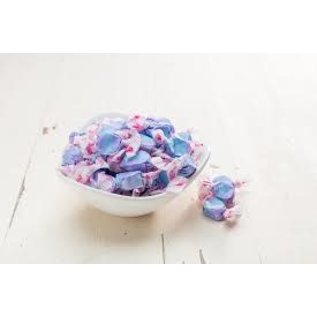 www.RocketFizzLancasterCA.com Blueberry Cobbler Salt Water Taffy ( 7 Taffies for $1.00)