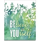 """Novelty  Metal Tin Sign 12.5""""Wx16""""H Believe In Yourself Novelty Tin Sign"""