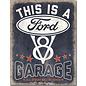 "Novelty  Metal Tin Sign 12.5""Wx16""H Ford Garage Novelty Tin Sign"