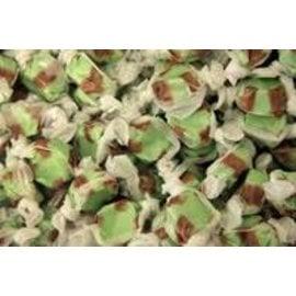 www.RocketFizzLancasterCA.com Kiwi Salt Water Taffy ( 7 Taffies for $1.00)