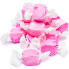 www.RocketFizzLancasterCA.com Strawberry Salt Water Taffy ( 7 Taffies for $1.00)