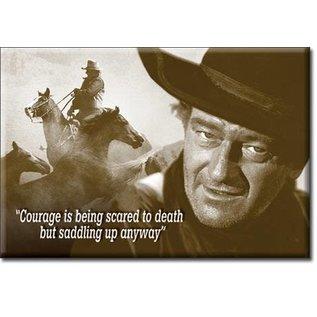 Rocket Fizz Lancaster's Magnet: John Wayne - Courage