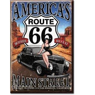 Rocket Fizz Lancaster's Magnet: RT66 America's Main St