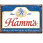 Rocket Fizz Lancaster's Magnet: Hamm's - Sky Blue