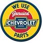 Rocket Fizz Lancaster's Magnet: Chevy Parts Round