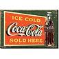 Rocket Fizz Lancaster's Magnet: COKE Ice Cold Green