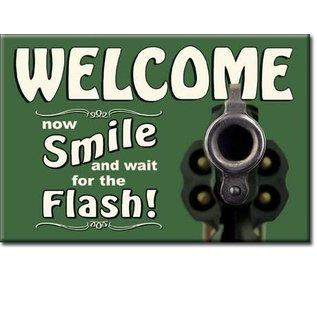 Rocket Fizz Lancaster's Magnet: Smile for the Flash