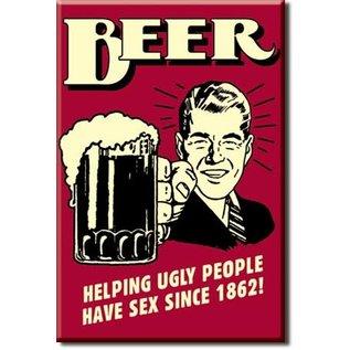 Rocket Fizz Lancaster's Magnet: Beer - Ugly People