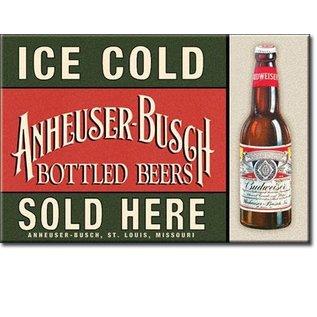 Rocket Fizz Lancaster's Magnet: Budweiser - Ice Cold