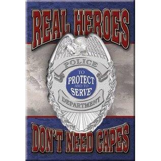 Rocket Fizz Lancaster's Magnet: Real Heroes - Police