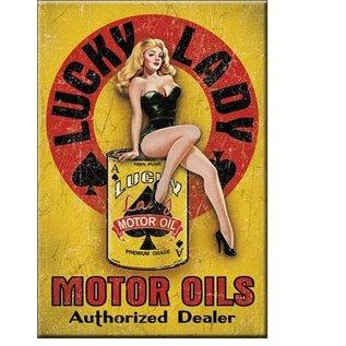 Rocket Fizz Lancaster's Magnet: Lucky Lady Motor Oil