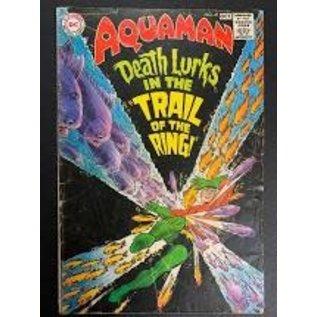 """Novelty  Metal Tin Sign 12.5""""Wx16""""H Comic Print - Aquaman #41 October 1968 Novelty Tin Sign"""
