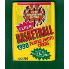Collectible Cards 1990 Fleer NBA All Star Basketball